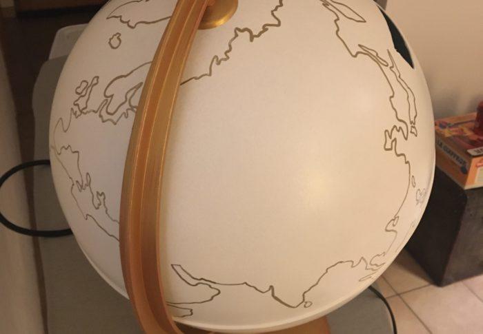 Mes DIY : le globe urne