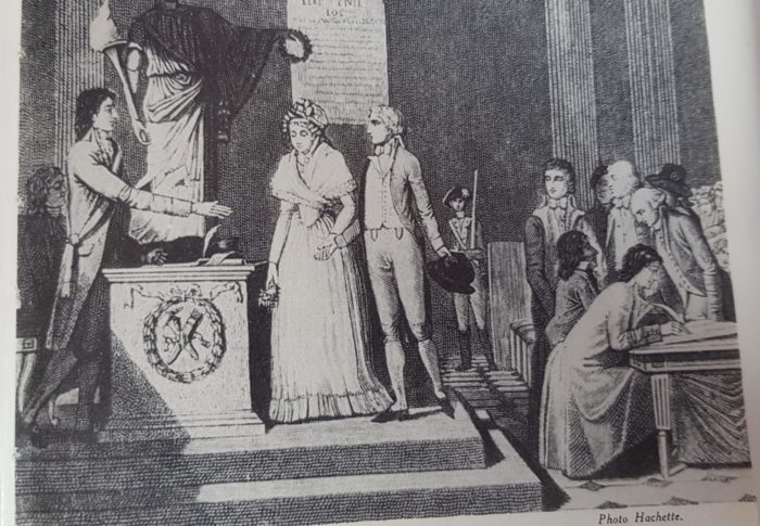 Voyage dans la grande histoire du mariage, épisode 1 : se marier au temps de la Révolution Française