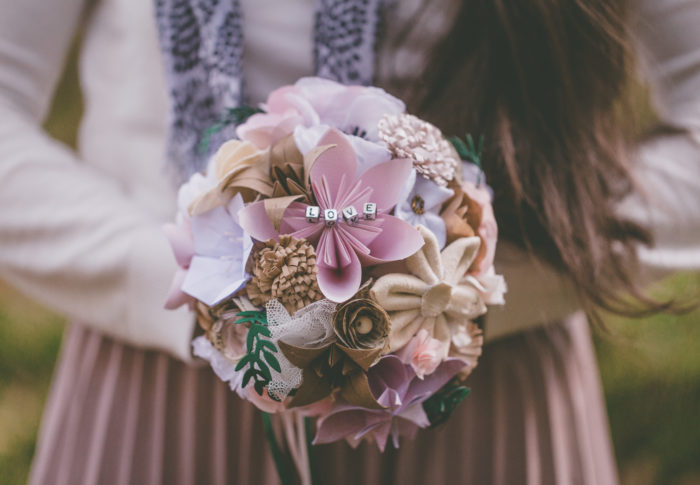 Mon Bouquet en origami