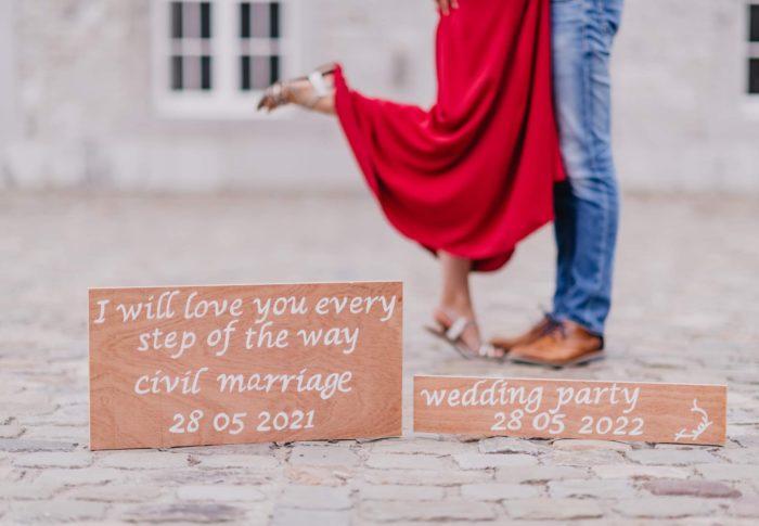 Lancer de paillettes pour… Mademoiselle passionnément Elle, future mariée de mai 2021 et 2022