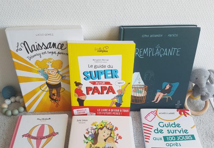 Les livres indispensables de ma grossesse